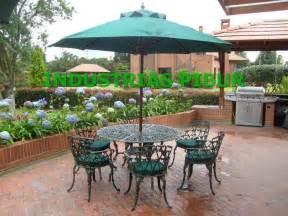 Fabrica Muebles Para Exterior Jardin Terraza Parasoles ...