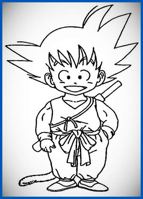 Fabulosas imágenes de goku para dibujar | Dibujos de ...
