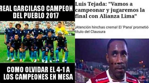 Facebook: Los mejores memes por el título de Alianza Lima ...