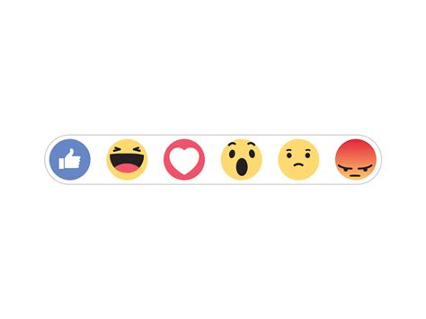 Facebook New Reactions   FREE Download on Behance