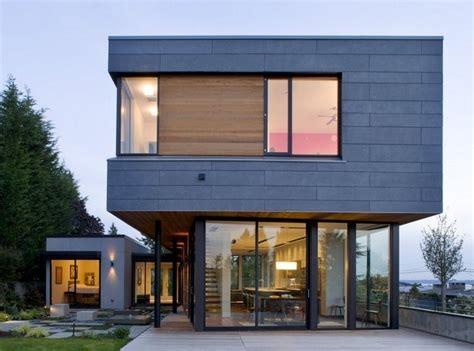 Fachadas de casas con estilo industrial