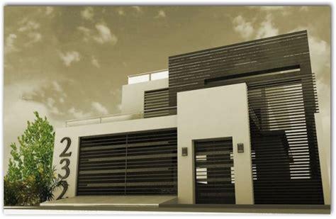 Fachadas de casas minimalistas   Part 2