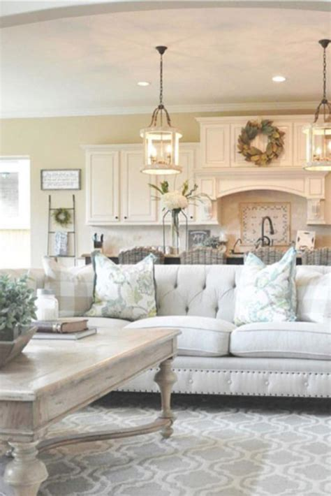 {Farmhouse Living Rooms} • Modern Farmhouse Living Room ...