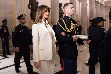 Fashion Notes: Melania Trump Brings Glamour to SOTU ...