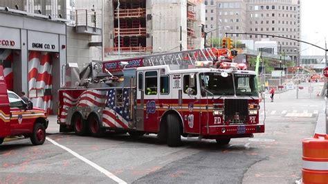FDNY Ten House Engine 10 & Ladder 10   YouTube