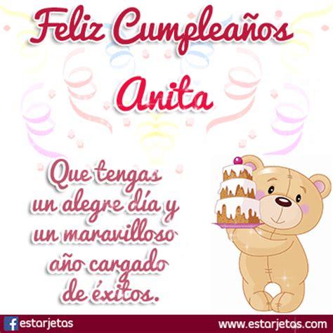 Felíz Cumpleaños Anita | imágenes GIFS de Cumpleaños ...