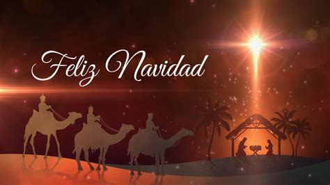 Feliz Navidad Felicitacion   Background Loop   YouTube