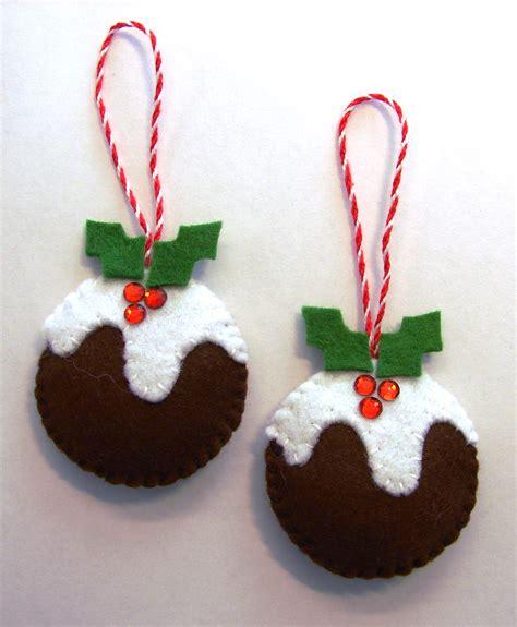 Felt Christmas Puddings | Cattitudes s Weblog