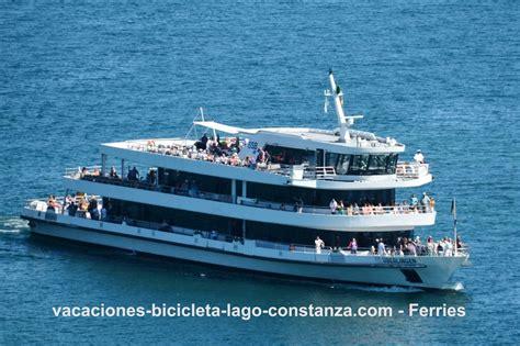 Ferries en el Lago de Constanza