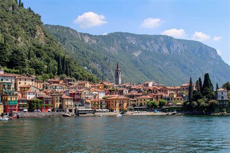 Ferry on Lake Como Italy between Bellagio, Varenna ...