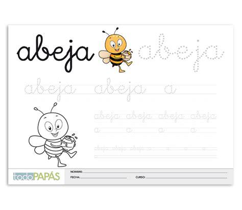 Ficha de caligrafía para imprimir y descargar gratis para ...