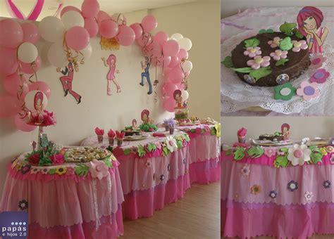Fiesta de cumpleaños con decoración de Lazy Town