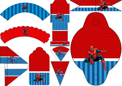 Fiesta de Spiderman: Imprimibles Gratis para Fiestas.   Oh ...