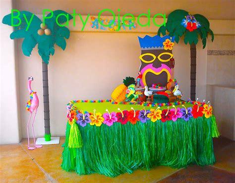fiesta hawaiana decoracion globos   Buscar con Google ...