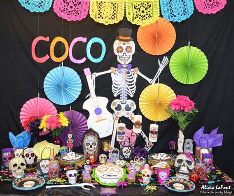 Fiesta temática de Coco Disney con las mejores ideas para ...