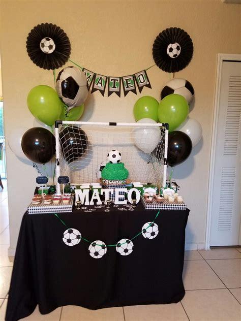 Fiesta tematica de fútbol  Party Soccer   tematica futbol ...