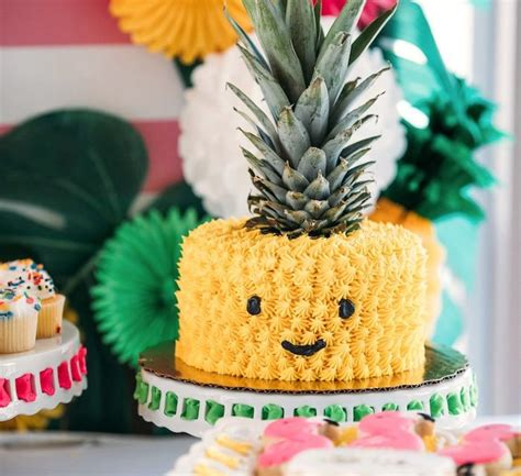 Fiesta temática de piña para niños: ¡ideas originales de ...