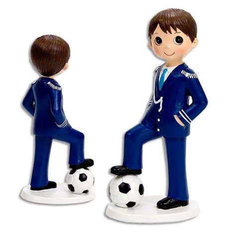 Figura Niño Comunion Futbol | Muñecos para Tartas Comuniones