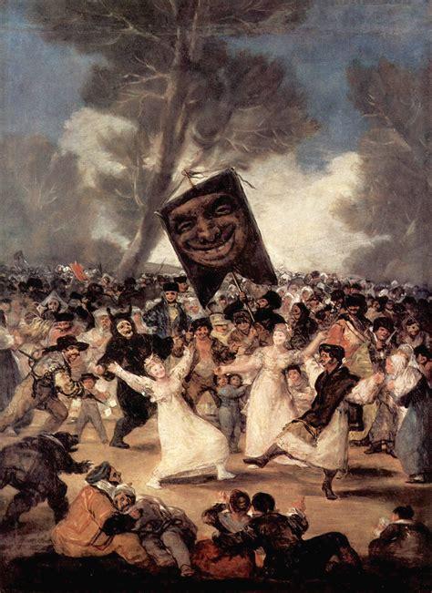 File:El entierro de la sardina, Francisco de Goya.jpg ...