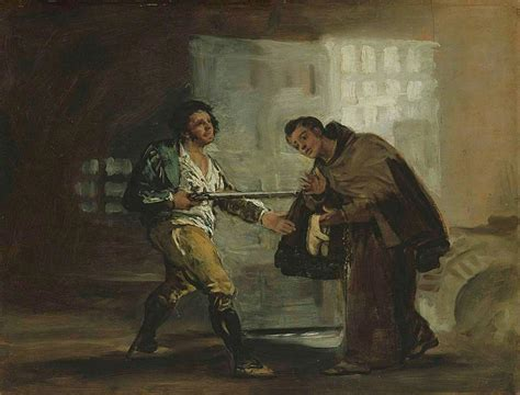 File:Francisco de Goya   Friar Pedro Offers Shoes to El ...