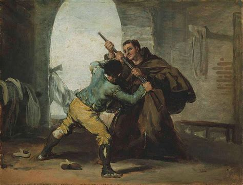 File:Francisco de Goya   Friar Pedro Wrests the Gun from ...