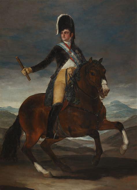 File:Francisco de Goya   Retrato ecuestre de Fernando VII ...