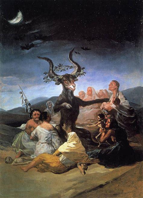 File:Francisco de Goya y Lucientes   Witches  Sabbath ...