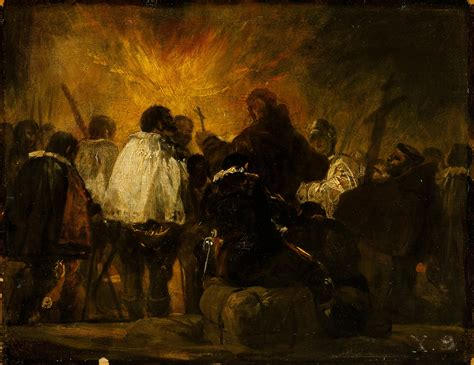 File:Francisco Goya   Night Scene from the Inquisition ...