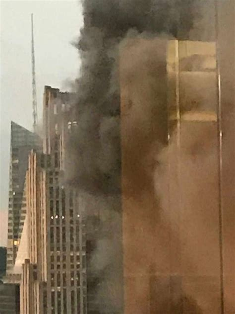 Firefighter among 3 injured in Trump Tower rooftop fire ...