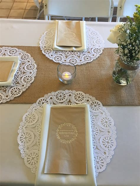First Communion table … | Pinteres…