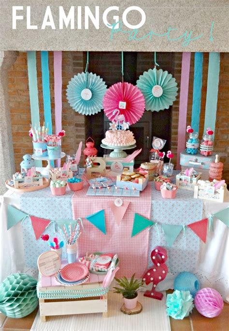 Flamingo Party para Niños | Fiestas y Cumples