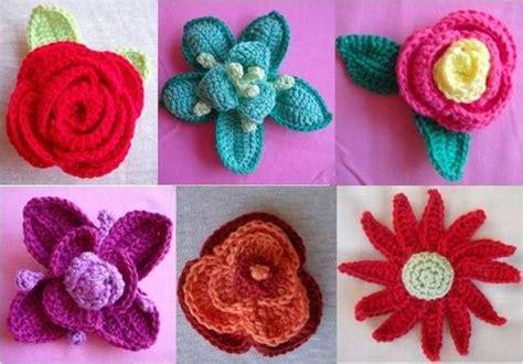 Flores de ganchillo: Fotos de los diseños más originales ...