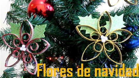 Flores de Navidad con Papel Reciclado   Manualidades de Lina
