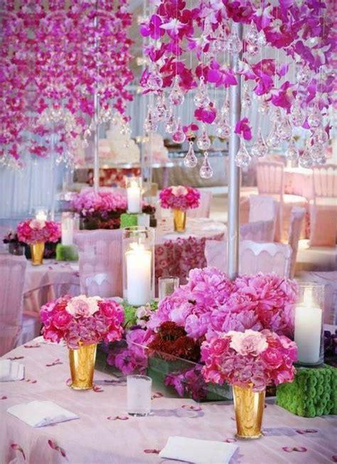 Flores hermosas para la decoración de tu fiesta