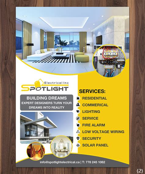 Flyer Design for Spotlight Electrical Inc. by ...