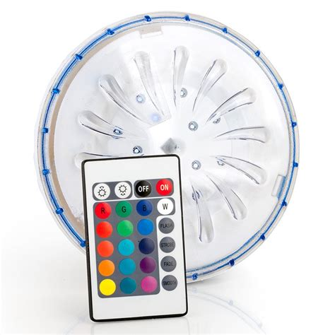 Foco LED color para piscina desmontable acero PLED1C ...