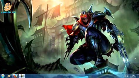 Fondo de escritorio animado  Zed  League of Legends    YouTube