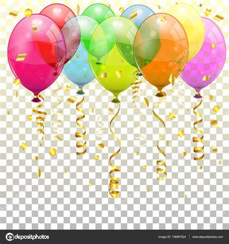 Fondo de fiesta con globos — Vector de stock #136887624 ...