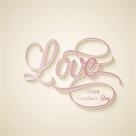 Fondo de palabra amor   Descargar Vectores gratis
