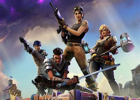 Fortnite cinematic trailer shows characters fortifying a ...
