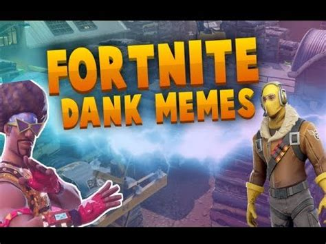 FORTNITE DANK MEME COMPILATION V5 ???? | insane funny ...