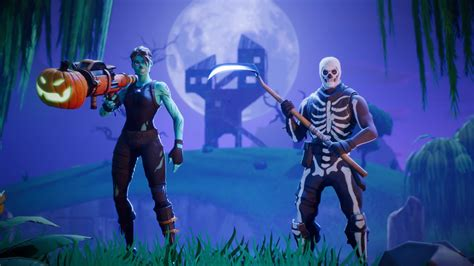 Fortnite s Battle Royale Mode Receiving Halloween themed ...