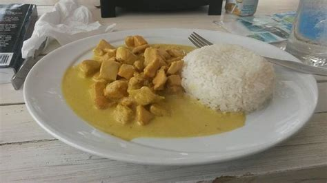Foto de Soles Chill Out Bar, Punta Cana: Curry chicken ...