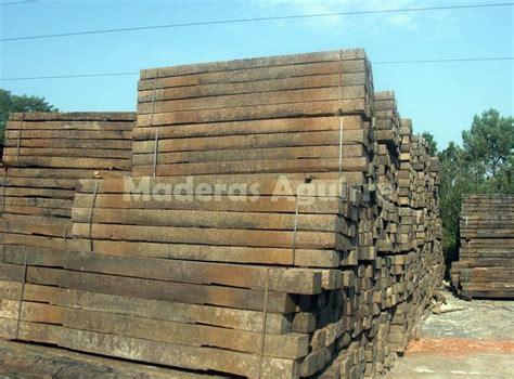 Foto: Traviesas de Tren Recuperadas Elondo de Maderas ...