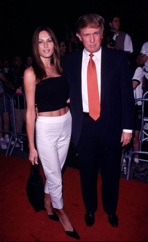 FOTOS: Así comenzó la relación de Melania y Donald Trump ...