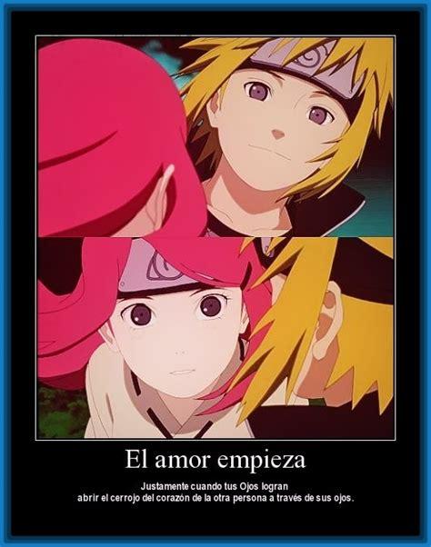 Fotos de Amor Anime con Frases de  Naruto  | Imagenes de Anime