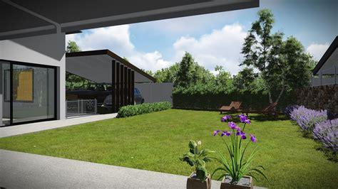 fotos de jardines de casas con parterres de jardin ...