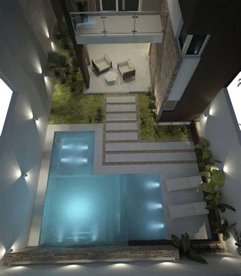 Fotos de piletas de estilo moderno : diseño de patios ...