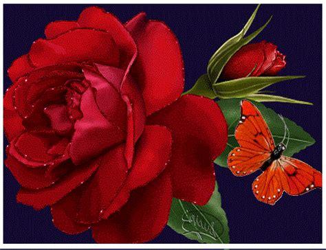 Fotos De Rosas Rojas Animadas Y Con movimiento | Imagen De ...