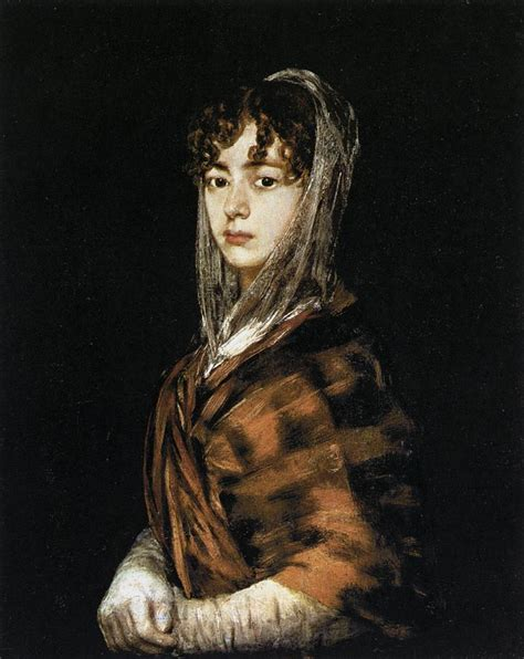 Francisca Sabasa y Garcia by GOYA Y LUCIENTES, Francisco de